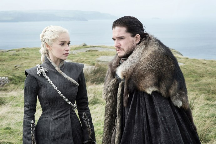 "**Jon and Daenerys will seize the throne together.**  <br><br> We know there's a romance there, plus a shared set of values, never mind the potential for them to be related. Familial, romantic or ideological ties aside, they're the most well-equipped people in the Seven Kingdoms to take the throne thanks to their combined armies and influence. If they're smart, they will team up as King and Queen.  There's another theory we like a lot less, which is that Daenerys will end up dead (she once had a vision where she was reunited with Khal Drogo and their baby and many believe this was a precursor to her death) and it will be Jon who kills her, given that the legend of Azor Ahai stipulates he must kill his wife by plunging a sword into her chest in order to gain power, as pointed out by *[Mashable](https://mashable.com/2017/09/15/will-jon-snow-kill-daenerys-white-walker-game-of-thrones-season-8/#7k_Q3lY8Vkqq|target=""_blank""