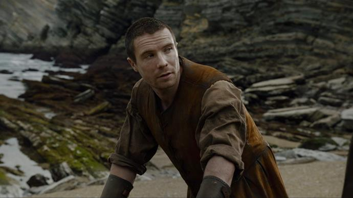"**Gendry is the rightful ruler and will finally claim his place.**  <br><br> Yes, he might have spent most of the show rowing around in a tiny wooden boat, but Gendry is BACK and let's not forget that he is the bastard son of Robert Baratheon. He may even be the legitimate child of Robert and Cersei. As pointed out by *Bustle*, Gendry told Arya he remembered his mum having ""yellow hair"" (Cersei's hair is a particular shade of lemon). We know Cersei lost her first child when it was a baby, but what if that child, described as a ""black haired beauty"", didn't die and was instead sent away or kidnapped? Given Gendry has now teamed up with Jon, Davos and Ser Jorah Mormont, he has a better chance than ever of taking pole position."