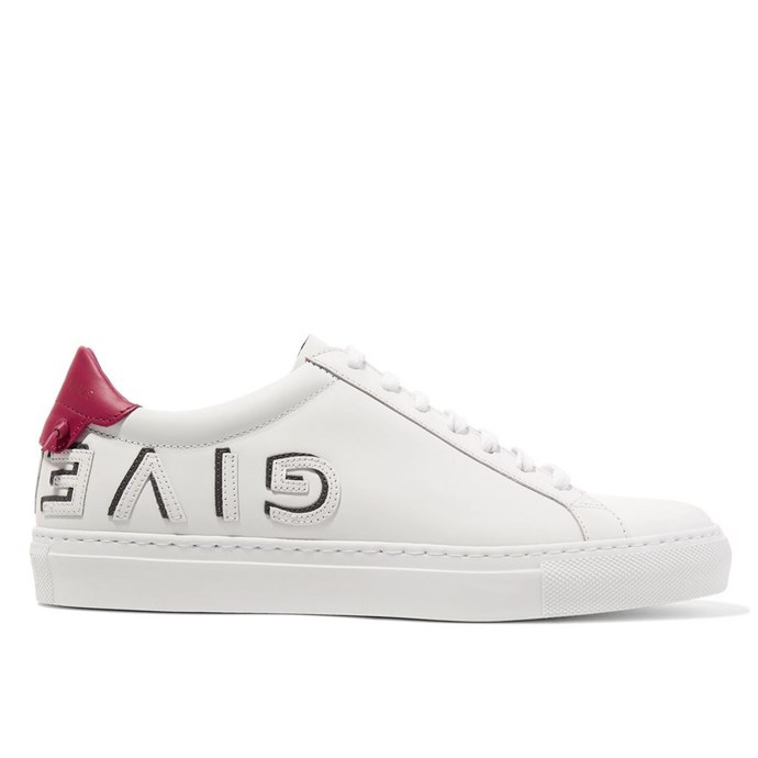 """***Givenchy Urban Street sneakers*** <br><br> Givenchy creative director Clare Waight Keller has made a note of serving exactly the kind of logomania we can get behind. The label's Urban Street sneakers are just as cool as they are elevated, and will make an enduring sneaker choice for 2019. <br><br> *Givenchy sneakers, $1,050 at [Net-a-Porter](https://www.net-a-porter.com/au/en/product/1058515/givenchy/urban-street-logo-appliqued-leather-sneakers