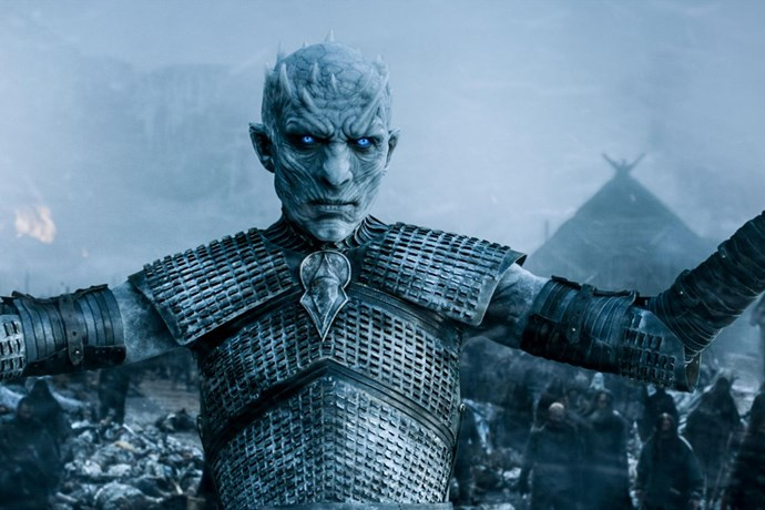 **The Night King kills everyone.**  <br><br> We know he's super smart, he has a massive army of dead people and he seems to know something the rest of the characters don't. Honestly, this show isn't exactly known for giving us happy endings. Thus, it might be that its biggest villain ends up claiming the seven kingdoms and killing everyone in his path.
