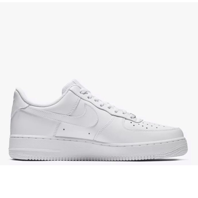 """***Nike Air Force One sneakers*** <br><br> With nostalgia remaining a fashion mainstay in 2019, the classics are back on the rise this year. The AF1 is a strong contender for the most durable white sneaker on the market, and might be the most comfortable, too. <br><br> *Nike sneakers, $150 at [Nike](https://www.nike.com/au/t/air-force-1-07-shoe-yATkW1Bp