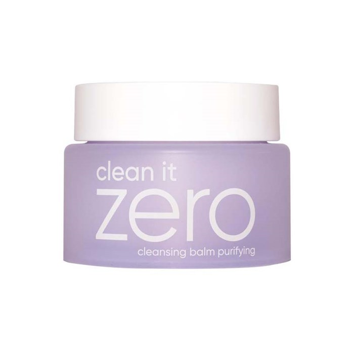 A cleansing balm that doesn't strip the skin, Clean It Zero is a cult favourite that's perfect for removing makeup and dirt without throwing anything out of balance. <br><bR> *Clean It Zero cleansing balm by BANILA Co.*
