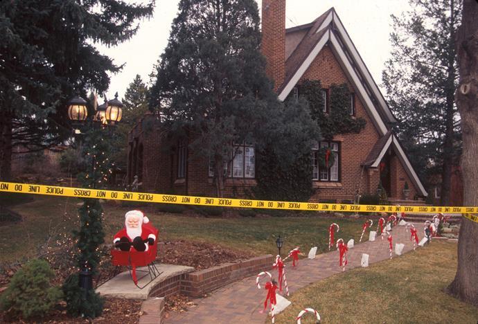 The Ramsey home in Boulder, Colorado.