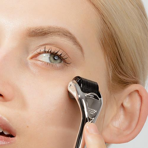 "***At-home microneedling*** <br><br> In the past, microneedling was reserved only for those who could afford it, with some clinical treatments having the potential to set you back hundreds, or even thousands of dollars. <br><br> Thankfully, the tables have turned in 2019, with at-home microdermabrasion becoming more popular than ever—the most effective of which includes rollers and overnight patches. <br><br> *ELLE* beauty writer Kate Lancaster endorses microneedle patches, saying: ""The tiny microneedles push acne-fighting product directly into the pustule (gross, sorry), rather than just drying it out on the top like zit creams do. <br><br> ""Pop one on at night, press it into the skin and wake up with a seriously diminished blemish."" <br><br> *Image: [ADOREBEAUTY](https://www.adorebeauty.com.au/lonvitalite/lonvitalite-dermal-roller.html