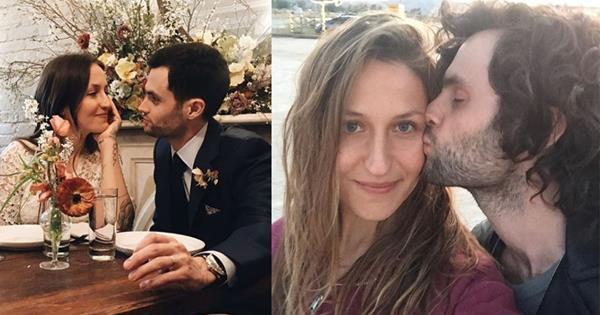 Penn Badgley And Wife Domino Kirke S Love Story Elle Australia