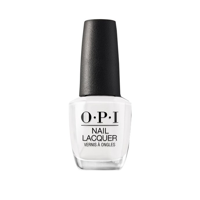 """*French Tips*<bR><br> We know what you're thinking, 'What is this? 2006?' Let us assure you, it's 2019 and French tips are *back.* """"French is surprisingly making a comeback,"""" says Papadopoulos.<br><br> Nail polish in 'Alpine Snow' by O.P.I., $19.95 at [Myer](https://www.myer.com.au/p/alpine-snow-132226480-132229000