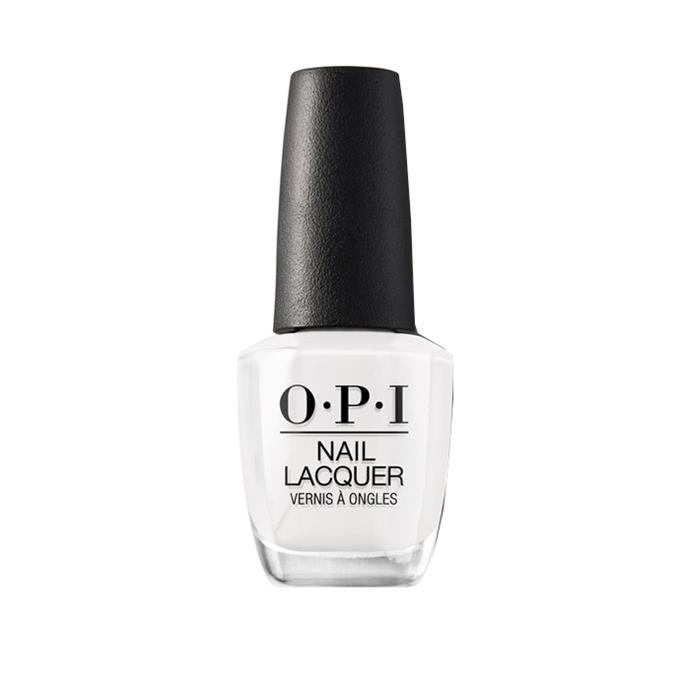 """*French Tips*<bR><br> We know what you're thinking, 'What is this? 2006?' Let us assure you, it's 2019 and French tips are *back.* """"French is surprisingly making a comeback,"""" says Papadopoulos.<br><br> Nail polish in 'Alpine Snow' by O.P.I., $19.95 at [Myer](https://www.myer.com.au/p/alpine-snow-132226480-132229000 target=""""_blank"""" rel=""""nofollow"""")."""