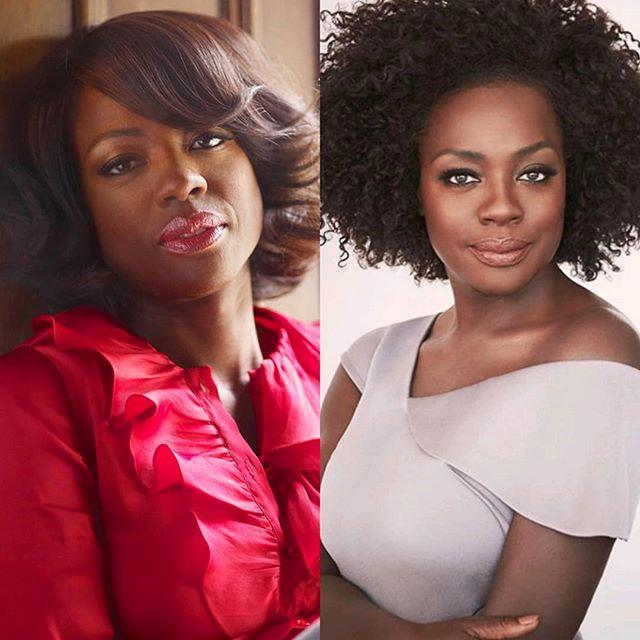"***Viola Davis*** <br><br> ""Is it too late for the #10YearChallenge? <br> 📷@jill.greenberg/@johnrussophoto"" <br><br> *Image: [@violadavis](https://www.instagram.com/p/Bsq6LJogNRM/
