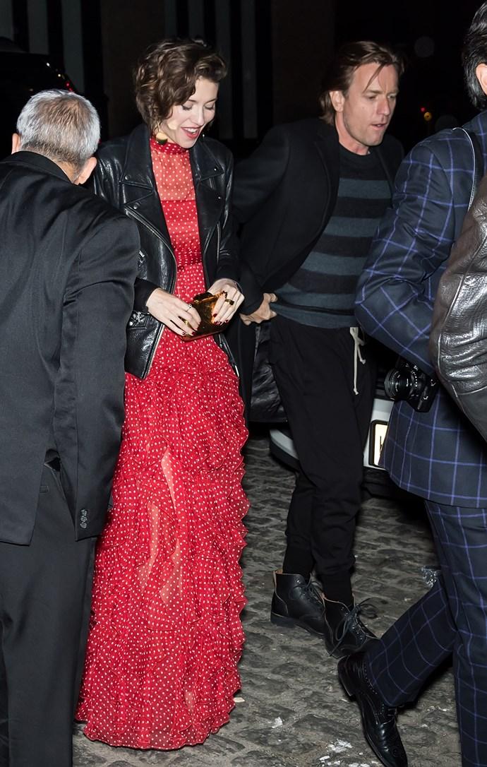 Mary Elizabeth Winstead and Ewan McGregor in April 2018.