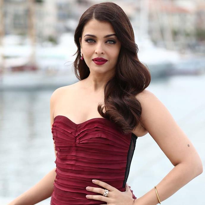 **Aishwarya Rai**<br><bR> Bollywood actress Aishwarya Rai and her husband Abhishek Bachchan bought a huge mansion in Dubai in 2016, which boasts—among other things—six bedrooms and a waterfall in the lobby.