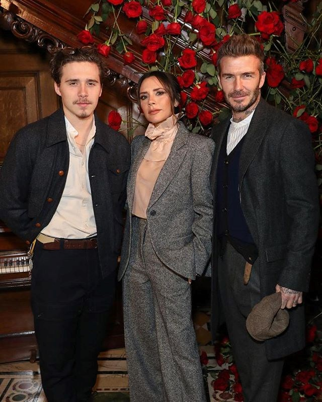 ***David and Victoria Beckham*** <br><br> After initially leaving the UK for the US in 2007, the Beckhams now evenly split their time between London and Los Angeles, and have a home in the West London neighbourhood of Holland Park for whenever they're in town.