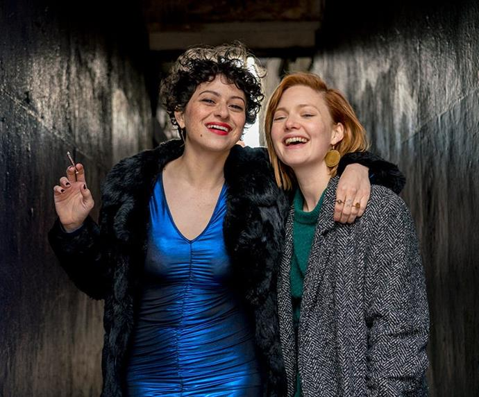 """***Animals*** <br><br> """"An Australian and Irish co-production, this one's set to fill the void *Girls* and *Broad City* has left in your life and is centred around two friends—played by *Cinderella* actress Holliday Grainger and *Arrested Development*'s Alia Shawkat—who've spent the best part of a decade partying, but now find their little bubble threatened when one lands a new love and shifts her focus away from their friendship to her writing career (any woman who's ever had a human female friend can probably relate). It'll debut at Sundance this month, so keep it on your radar for when it gets wider release."""""""