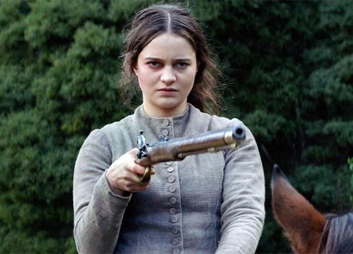 """***The Nightingale***  <br><br> """"Among the Aussie films screening at Sundance is gothic thriller *The Nightingale*, written and directed by Australian Jennifer Kent (who also brought you the super-creepy *The Babadook*, which impressively was only her directorial debut), and starring Sam Claflin (*Me Before You*) and Aisling Franciosi, who you might remember from *The Fall* (she played Jamie Dornan's character's teenage accomplice)."""""""