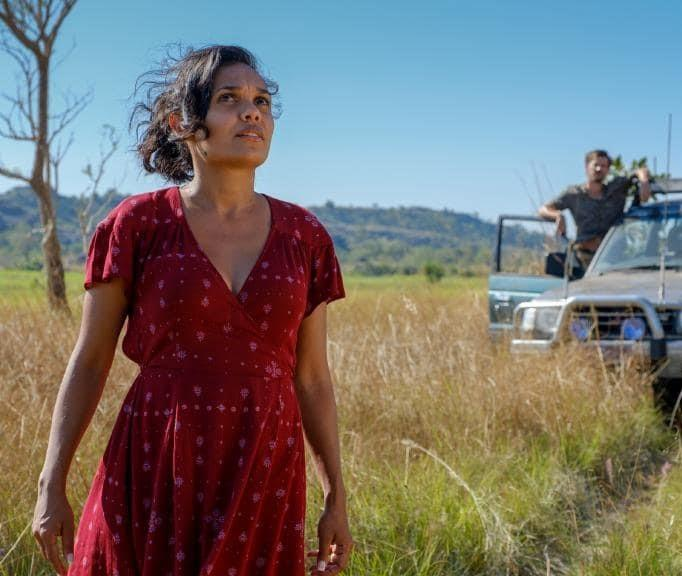 """***Top End Wedding*** <br><br> """"*Love Child*'s Miranda Tapsell is such a brilliant Aussie actress, and now she's starring in a new local production *Top End Wedding* (set to release in May), as an engaged woman trying to track down her mum in the Northern Territory before her wedding. It's been picked to premiere at Sundance next week (from January 24), which is huge coup for a local production and a sure sign of a film worth seeing."""""""