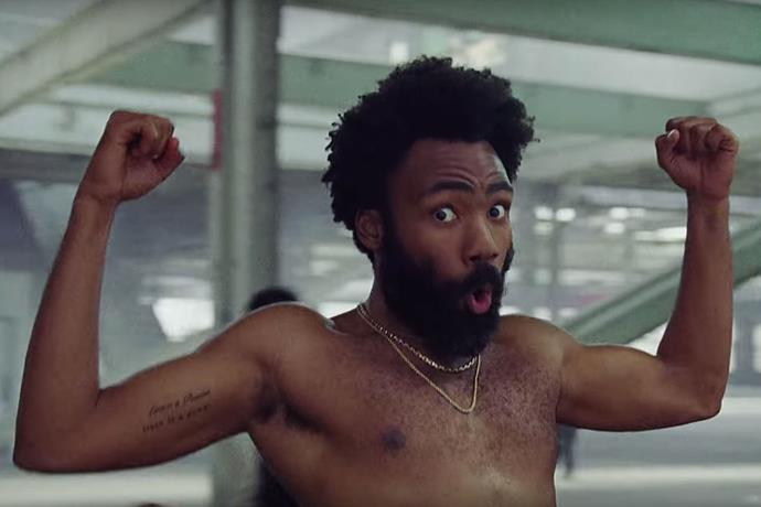 4. ***THIS IS AMERICA* BY CHILDISH GAMBINO**