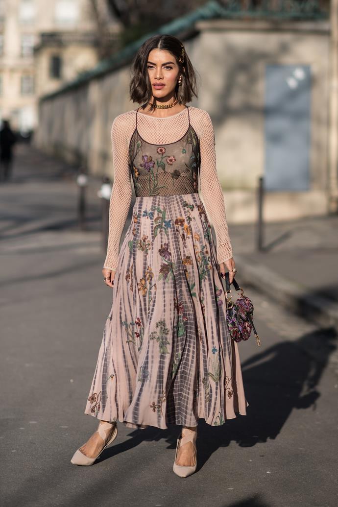Camila Coehlo at Dior.