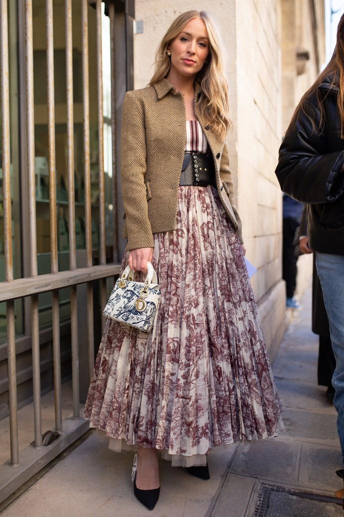 Carin Olsson at Dior.