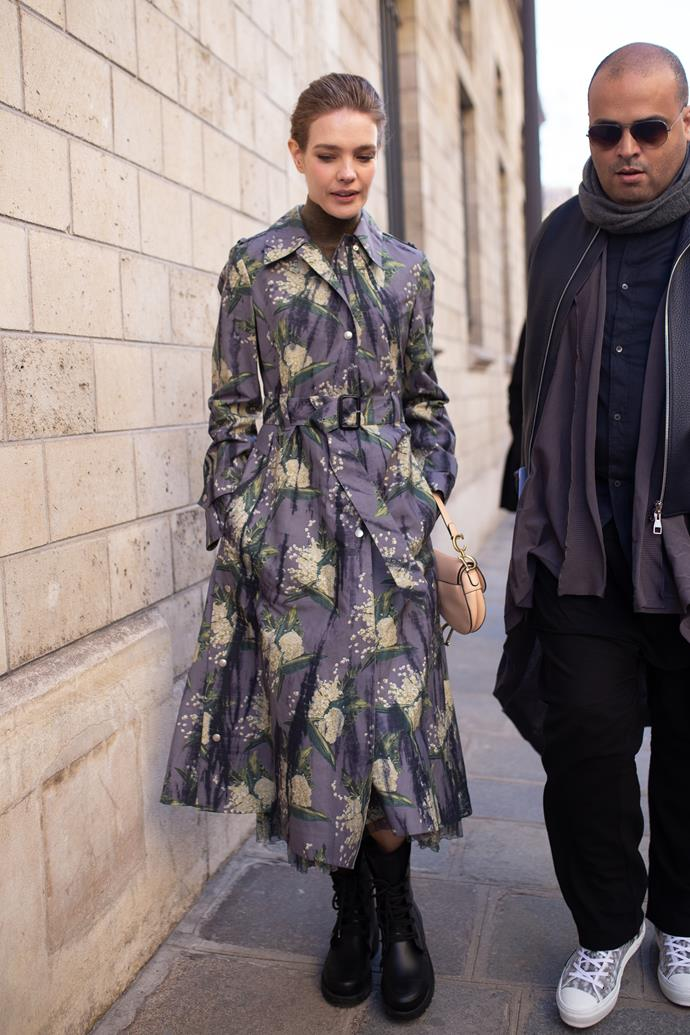 Natalia Vodianova at Dior.