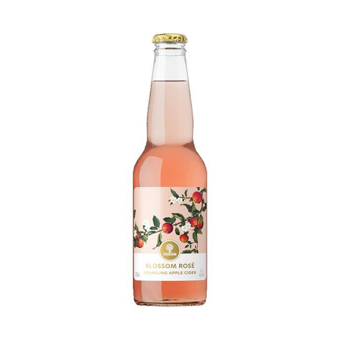 "Sparkling? Tick. Rosé? Tick. Apple cider? Tick, tick, tick. This bottled options hits all the right spots.<br><br> *Strongbow Blossom Rosé Sparkling Apple Cider, $16.95 per pack of 6 at [Dan Murphy's](https://www.danmurphys.com.au/product/DM_784867/strongbow-blossom-ros-sparkling-apple-cider-bottles-330ml|target=""_blank""