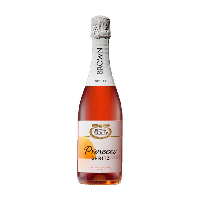 """Why choose between a Spritz and a glass of Prosecco when you can have both at the same time?<br><br> *Brown Brothers Prosecco Spritz, $14.60 at [Dan Murphy's](https://www.danmurphys.com.au/product/DM_682460/brown-brothers-prosecco-spritz