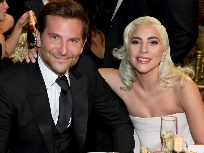 Bradley Cooper and Lady Gaga at the Critic's Choice Awards in January 2019.