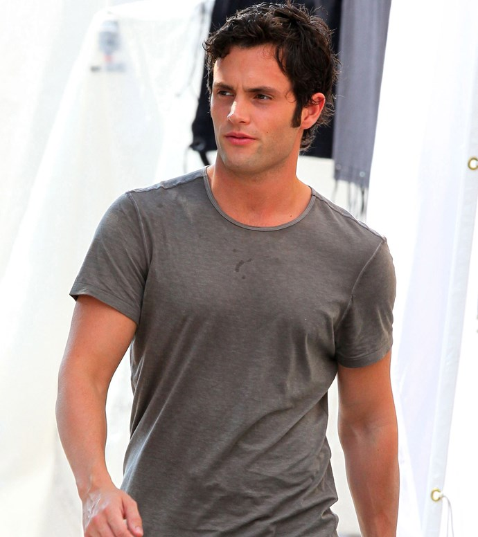 *Gossip Girl*'s Penn Badgley in 2010.