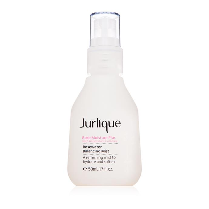 "**Jurlique Rosewater Balancing Mist** <br><br> Created from ingredients planted in the Adelaide Hills (about as home-grown as it gets), the hydrating mist is infused with a hint of rose to leave you feeling incredibly refreshed and smelling great.   <br><br> *$35 at [Jurlique](https://www.jurlique.com.au/rosewater-balancing-mist|target=""_blank""