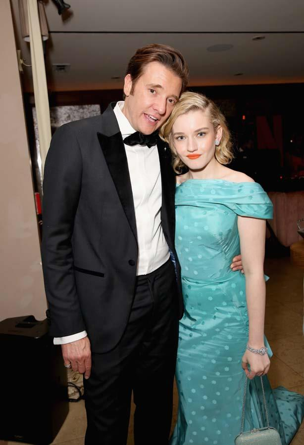 Jason Butler Harner and Julia Garner.
