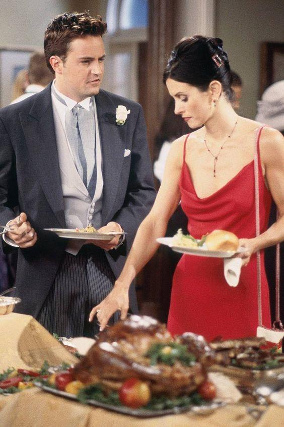 These days you can't wander into a party without bumping into someone in a slip dress, something that proves Monica was way ahead of her time.