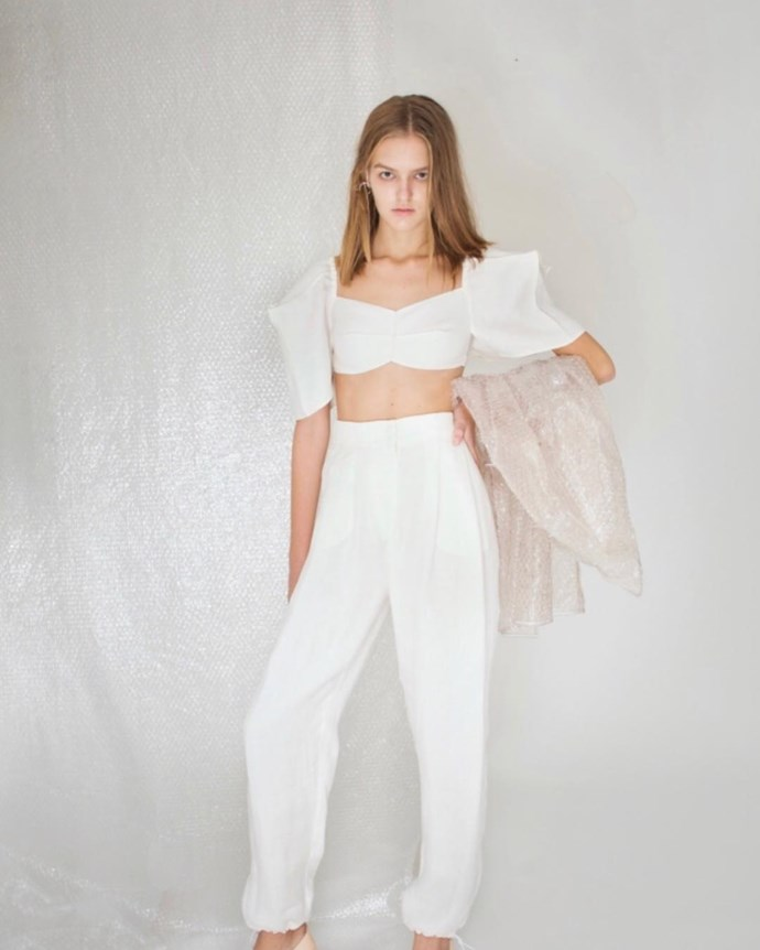 """***[Bevza](https://www.instagram.com/bevza/ target=""""_blank"""" rel=""""nofollow"""")***<br><br> """"This brand first caught my eye on the runway with their shoes but their clothes are also incredible. They have an ease to them that makes them appealing."""" Caroline Tran, fashion editor.<br><br> Buy this: Four-colour dress, $830 at [Bevza](https://bevza.com/collections/ss19/products/four-colors-dress?variant=12854269050931 target=""""_blank"""" rel=""""nofollow"""")."""