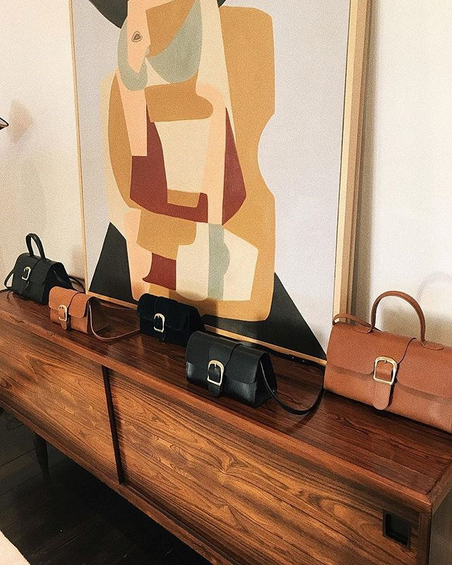"""***[Rylan](https://www.instagram.com/rylanstudio/ target=""""_blank"""" rel=""""nofollow"""")***<br><br> """"Brooke Testoni's minimalist handbags have a fun art deco/vintage vibe while still being very modern. Moda Operandi's Lisa Aiken just dubbed the brand one of her favourites of 2019 and I am tempted to agree."""" Grace O'Neill, fashion features director.<br><br> Buy this: Velvet bag, $550 at [Moda Operandi](https://www.modaoperandi.com/rylan-pf19/black-velvet-small-bag?size=OS target=""""_blank"""" rel=""""nofollow"""")."""