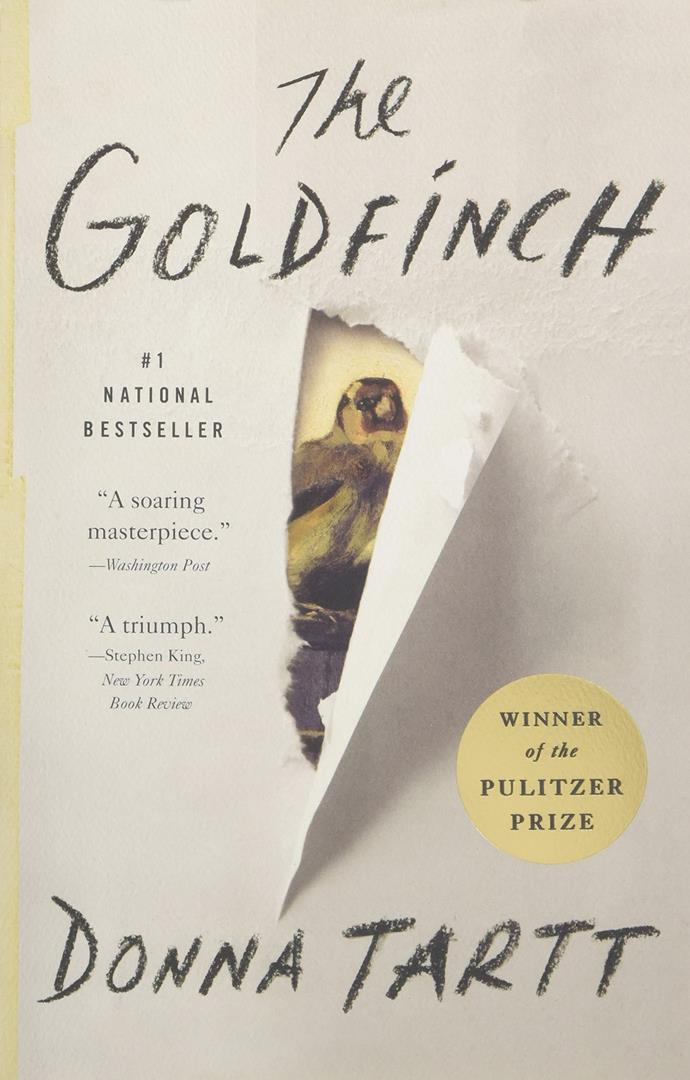 ***The Goldfinch* by Donna Tartt** <br><br> The sweeping story of a young boy who loses his mother in a terrorist museum bombing that he survives is only Tartt's second-ever novel (after 1992's *The Secret History*) but it was widely lauded as a masterpiece. Now, it will be brought to life on the big screen by Ansel Elgort, Sarah Paulson, Nicole Kidman and Luke Wilson and it's expected toward the end of 2019.