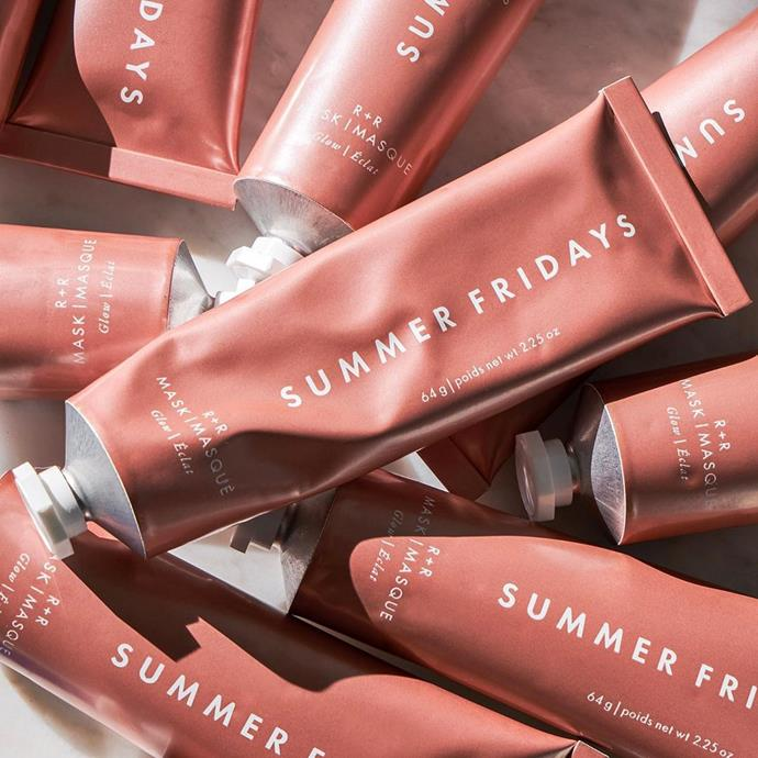 """***[Summer Fridays' 'R+R' masque](https://summerfridays.com/products/r-r-mask