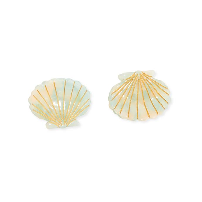 """*On trend hair clips, for matching brunch looks*<br><br> Hair clips, barrettes and slides are back in for spring, buy a matching set and split between you. Ultra cute.<br><br> Hair clips by Valet, $51.29 at [NET-A-PORTER](https://www.net-a-porter.com/au/en/product/1124914