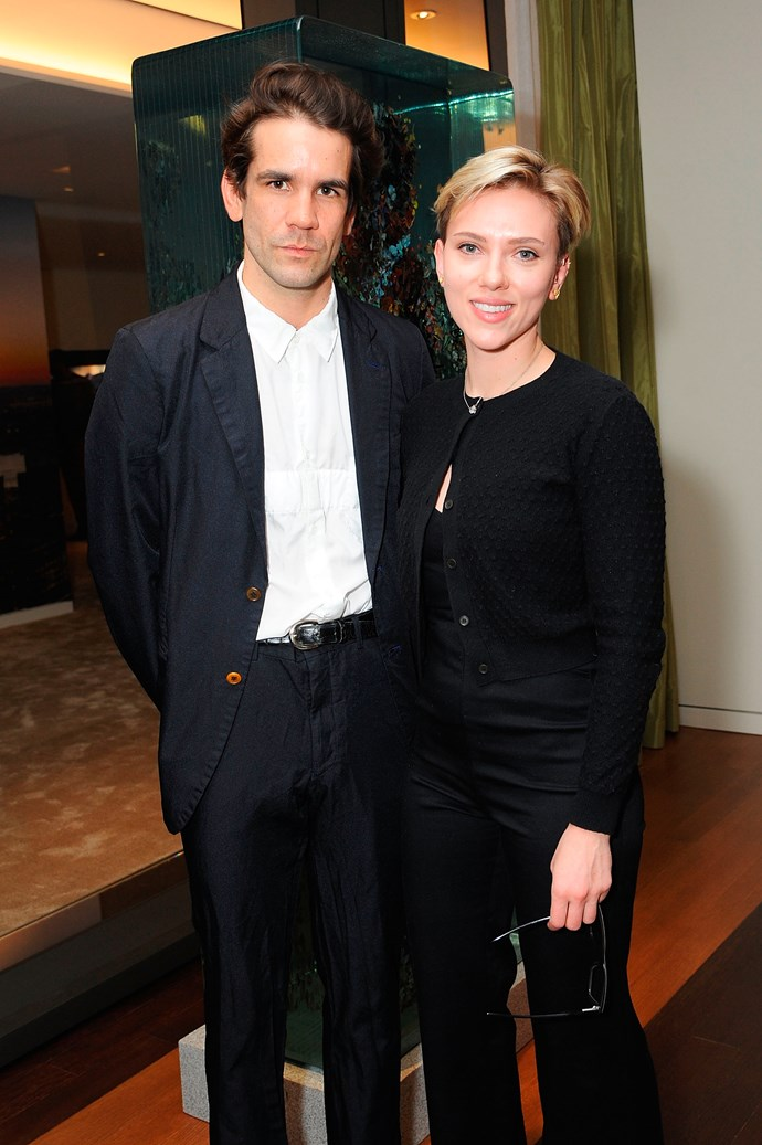 **Scarlett Johansson** <br><br> Along with juggling an acting career, Johansson juggles being a mother to five-year-old daughter Rose Dorothy Dauriac, her only child with now-estranged ex-husband Romain Dauriac.