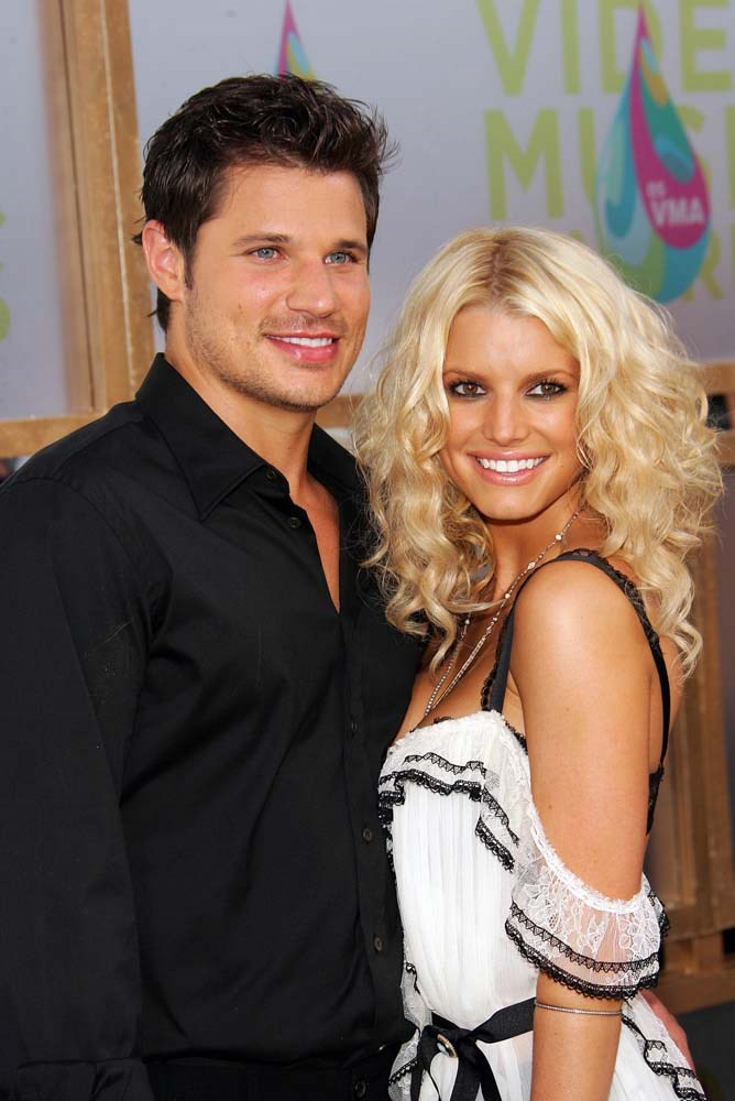 "***Jessica Simpson***<br><br> Jessica Simpson's virginity was a major plot-point during her reality show *Nick and Jessica: Newlyweds*.<br><br> ""My virginity is something I stand strong in,"" she told *[People](http://people.com/celebrity/sean-lowe-tim-tebow-lolo-jones-celebrity-virgins/#jessica-simpson