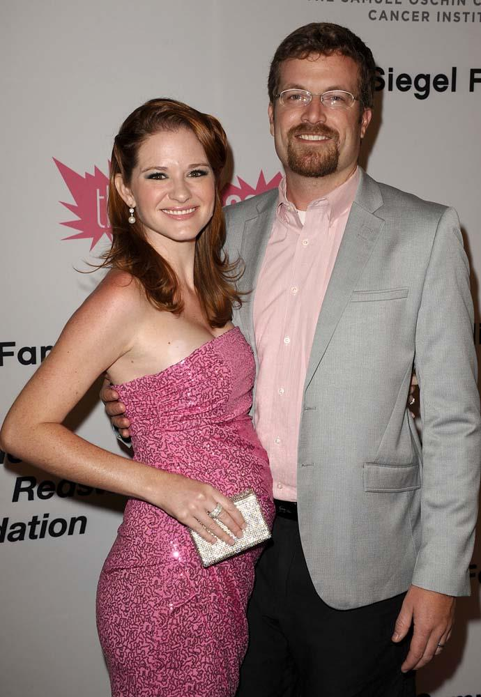 "***Sarah Drew***<br><br> *Grey's Anatomy* actress Sarah Drew abstained from sex before marriage to now-husband, Peter Lanfer.<br><br> ""For April, the first thing that was revealed was she was a virgin,"" Drew told *[Fox News](http://www.foxnews.com/entertainment/2014/03/04/sarah-drew-why-saved-myself-for-marriage.html