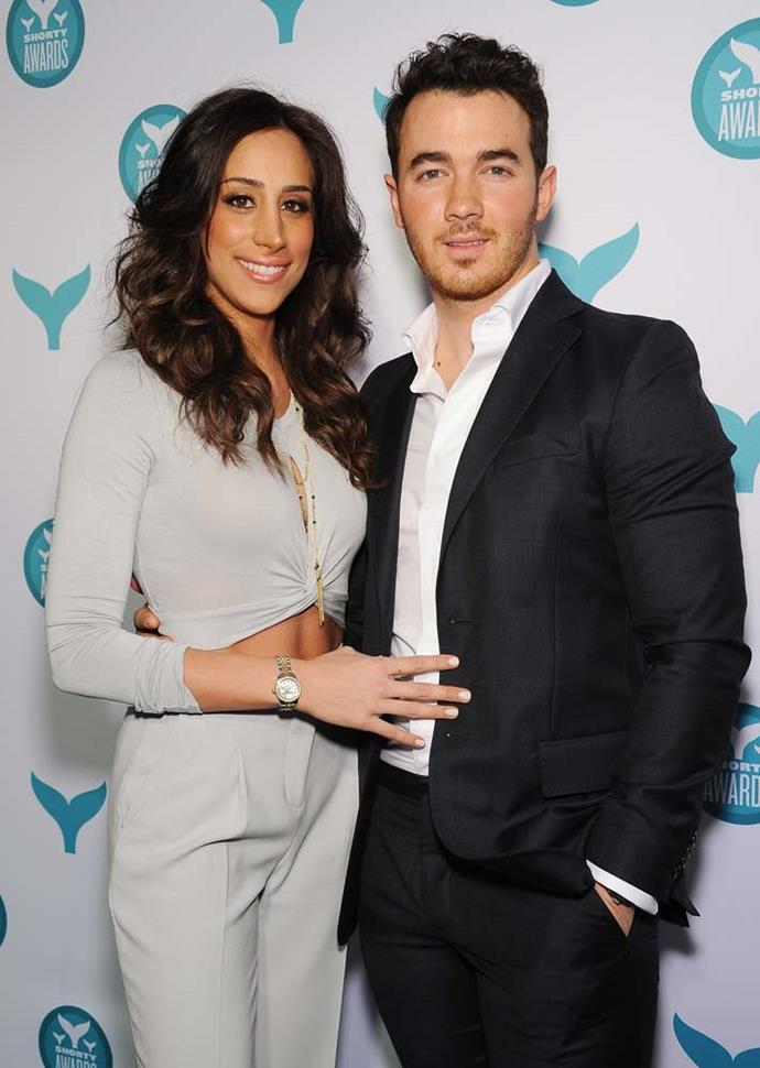 "***Kevin Jonas***<bR><Br> The eldest of the Jonas brothers, Kevin waited until he was married to girlfriend of two years Danielle Deleasa to have sex.<br><br>  ""I could've gotten married the day after we got engaged,"" Jonas told *[People](http://people.com/celebrity/sean-lowe-tim-tebow-lolo-jones-celebrity-virgins/#kevin-jonas