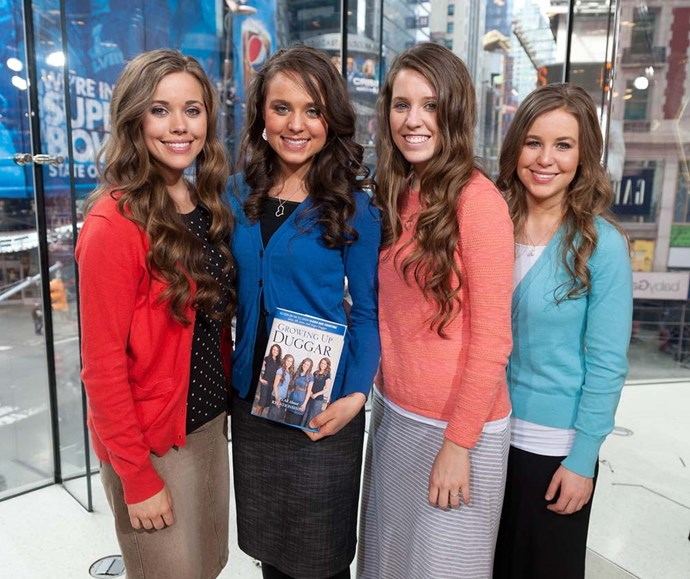 "***The Duggars***<br><br> The four Duggar daughters who are currently married, Jill, Jessa, Jinger and Joy-Anna, all waited until marriage to have sex. Jill revealed she also waited until marriage to kiss her husband for the first time.<br><br> ""We're just really trying to keep our relationship focused not on the physical but really just more on communication and continuing to learn more about each other. We're saving our first kiss and things beyond that for our wedding,"" she told *[InTouch](https://www.intouchweekly.com/posts/like-a-virgin-9-stars-who-waited-until-marriage-to-have-sex-46796/photos/jill-duggar-66418#photo-anchor