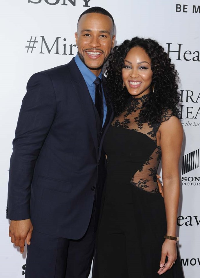 "***Meagan Good***<br><br> Although her boyfriend DeVon Franklin wasn't a virgin, Meagan Good revealed she didn't have sex until marriage. They married in 2012.<br><br> ""Our wedding night will be the first time we're actually together. He was willing to be celibate with me for a year."""