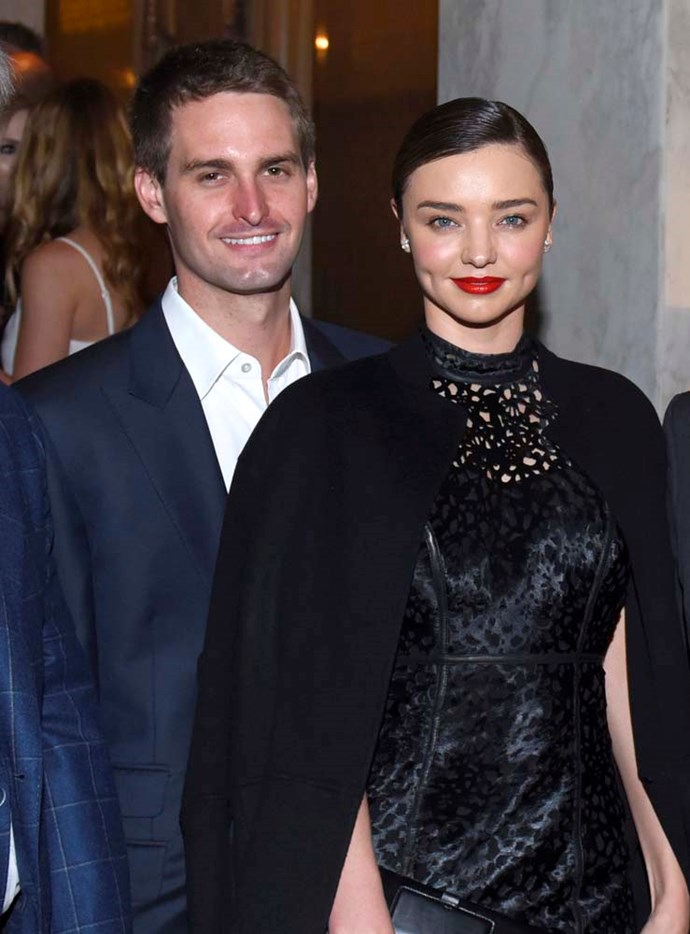 "***Miranda Kerr and Evan Spiegel***<br><br> Supermodel Miranda Kerr revealed in 2017 that she and then-boyfriend Evan Spiegel chose not to have sex before marriage.<bR><br>  ""[Spiegel] is very traditional. We can't… I mean we're just… waiting,"" she told *[The London Times](http://www.thetimes.co.uk/article/miranda-kerr-sex-and-the-snapchat-ceo-the-life-of-a-frustrated-supermodel-9z70hhbtc