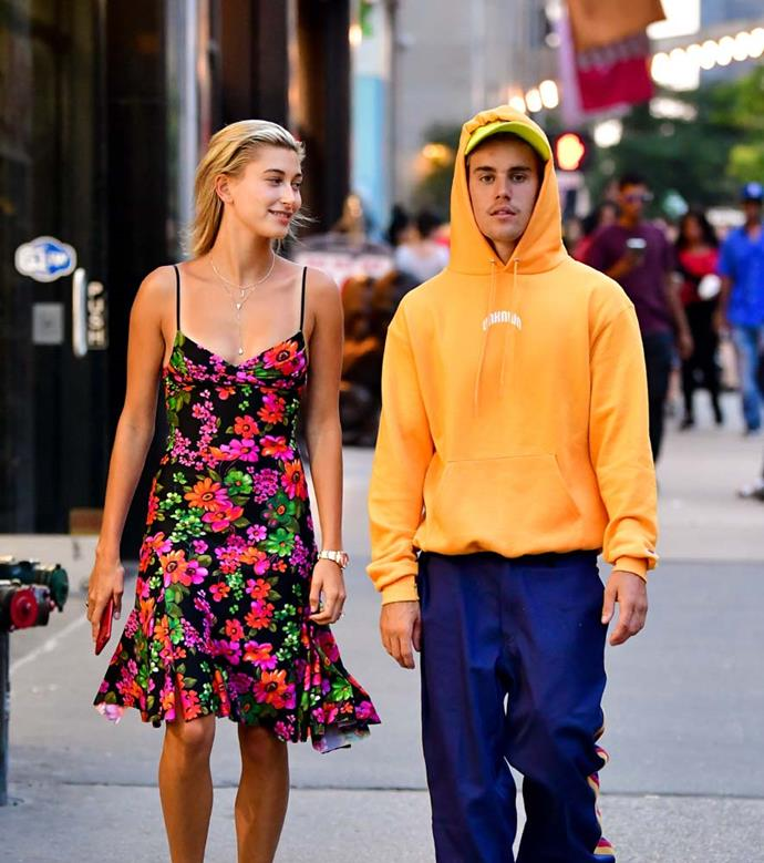 "***Justin Bieber and Hailey Baldwin***<br><br> Bieber and Baldwin told *[Vogue](https://www.vogue.com/article/justin-bieber-hailey-bieber-cover-interview|target=""_blank""
