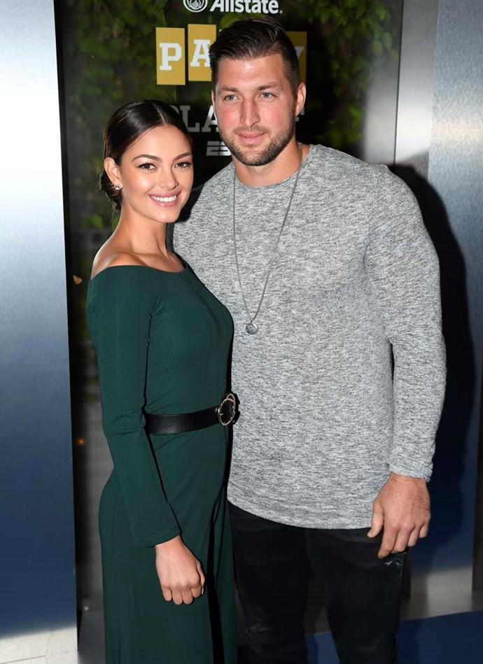 "***Tim Tebow***<br><br> NFL and NBL player Tim Tebow has vowed to abstain from sex until marriage. ""It's about finding a girl who likes me for me, and not because of what I do, or who I am, or the name,"" he told *[People](https://people.com/celebrity/sean-lowe-tim-tebow-lolo-jones-celebrity-virgins/#tim-tebow