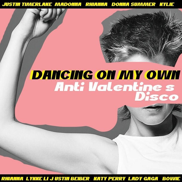 ***'Dancing On My Own' at Oxford Art Factory*** <br><br> We're expecting you probably haven't made it this far into the article if you're single, but if you have, you've struck gold. On Friday, February 15, Oxford Art Factory is hosting a club night for all the singles out there, named in honour of Robyn's anthemic, tear-inducing ode to singledom. Get down to Kylie, Rihanna, Bowie and more, at this self-proclaimed 'Anti-Valentine's Disco' (which, thankfully, isn't on a weeknight). <br><br> *Free entry at 38-46 Oxford St, Darlinghurst NSW 2010*