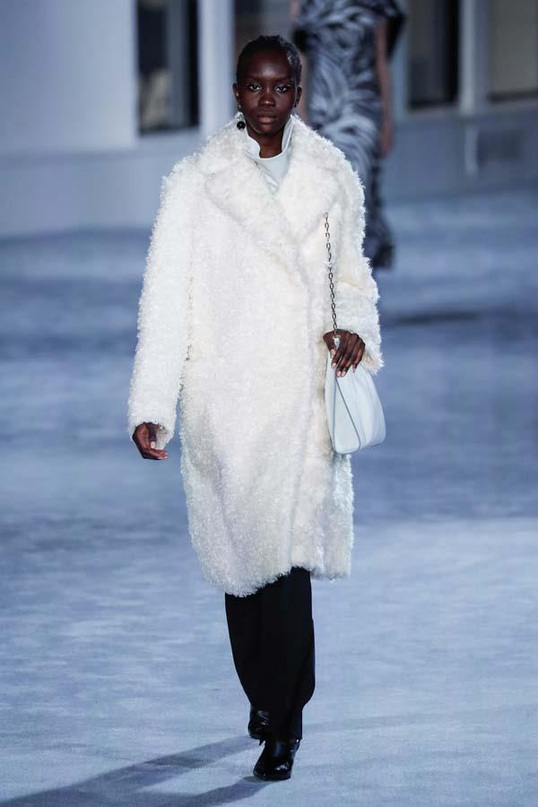 ***ALL FLUFFED UP***<br><br> If you want to go into winter with just one key piece, channel your inner Rihanna and make it the ultra-fluffy coat. In lush white or moody black, this piece should hit knee-length and utilise some strong lapels.<br><br> As seen at: Tom Ford autumn/winter '19.