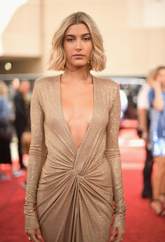 "***Hailey Bieber***<br><br> Following her marriage to Justin Bieber in September 2018, Hailey Baldwin switched over to 'Hailey Bieber.'<br> She told *[Bustle](https://www.bustle.com/p/hailey-bieber-explains-why-taking-justins-last-name-doesnt-make-her-any-less-of-a-baldwin-15946960|target=""_blank""