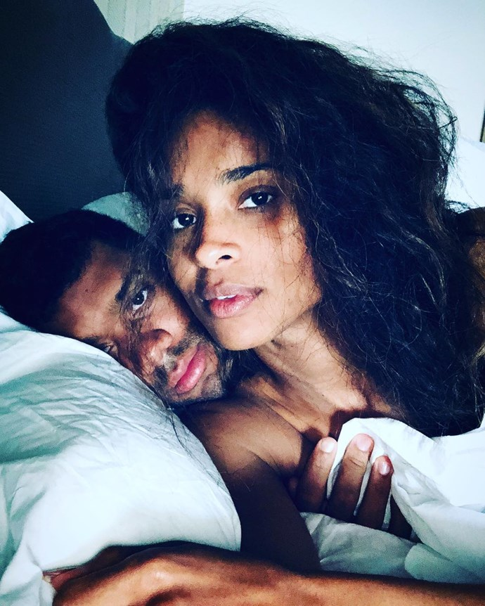 "Russell Wilson wrote to wife Ciara, ""Forever my greatest love. ❤️"""