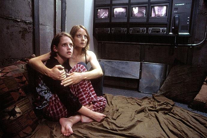 **Jodie Foster and Kristen Stewart in *Panic Room* (2002)** <br><br> Possibly the most insane part of this 2002 thriller is that Foster and Stewart (long before she rose to superstardom from her role in *Twilight*) look insanely similar to one another, and could pass as mother and daughter in real life, too.
