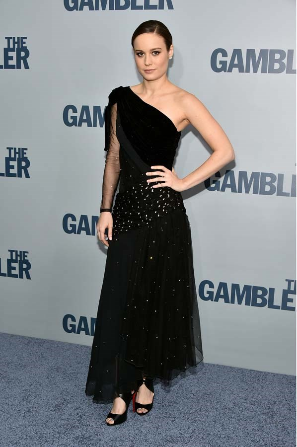 At the premiere of 'The Gambler,' on December 10th, 2014.