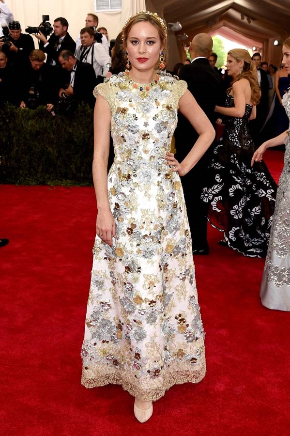 At the Met Gala, on May 4th, 2015.